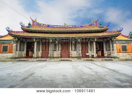 The Taipei Confucius Temple In Taiwan