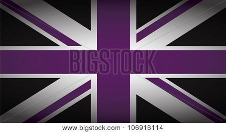 Uk Purple And Black