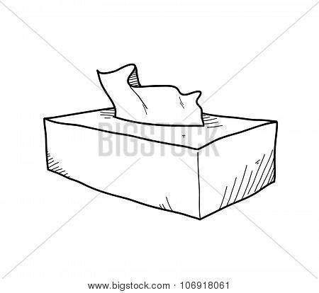 Tissue Box Doodle