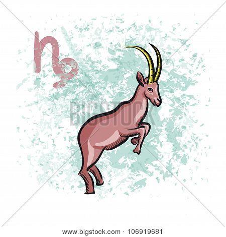 Capricorn sign of the Zodiac