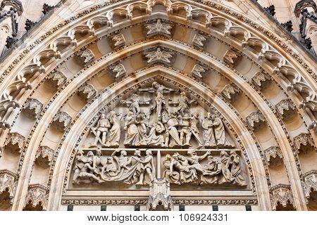 Details Of St. Vitus Cathedral, Prague