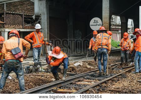 Restoration The Railroad Tracks