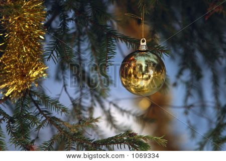 Christmas Tree With Ball