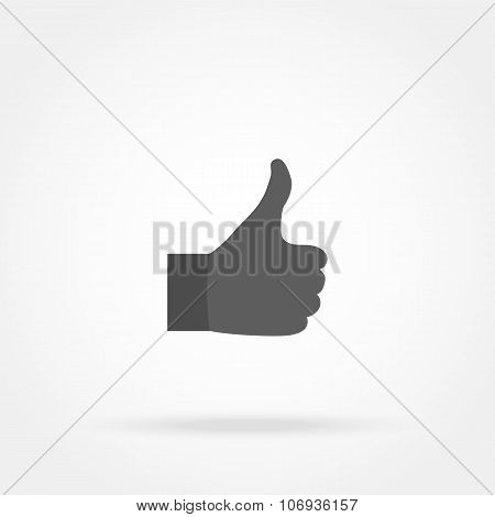 Hand Showing Thumb Icon