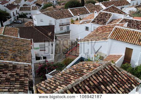 Zahara De La Sierra roofs