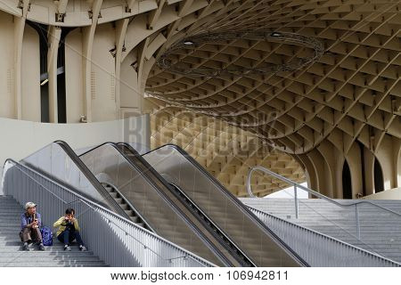 At the Metropol Parasol
