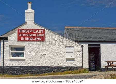 First And Last Refreshment House, Cornwall, England