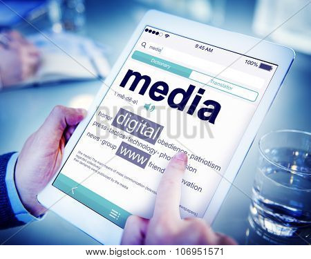 Media Digital WWW Meaning Searching Concepts