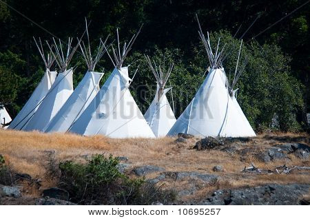 Native Americans Tipis