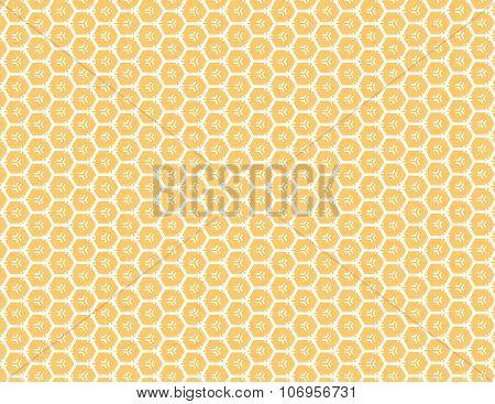 Honey Comb Background