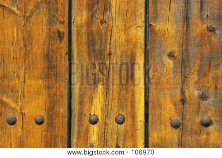 Three Wooden Planks