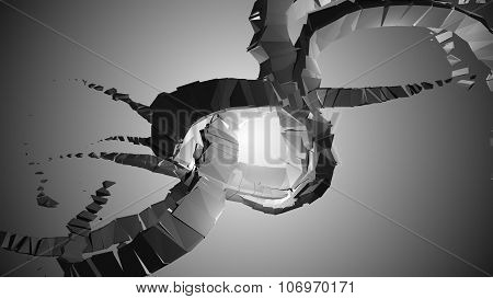 3D Industrial Abstraction
