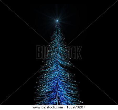 Shining Christmas Tree