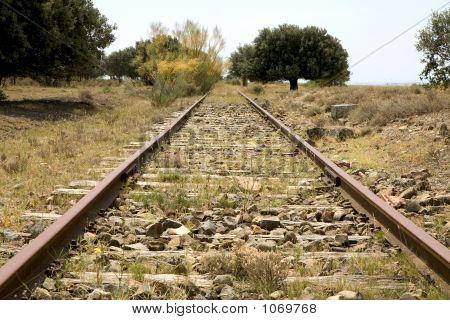 Tren abandonado