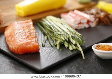 Japanese cuisine, sushi