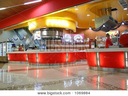 Snack Bar Interior