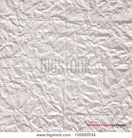 vector paper wrinkled
