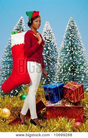 A Beautiful Woman Elf