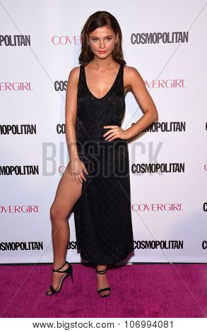 LOS ANGELES - OCT 13:  Stefanie Scott arrives to the Cosmopolitan's 50th Birthday Party on October 13, 2015 in Hollywood, CA.