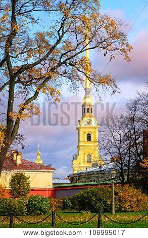 Saints Peter And Paul Fortress, St Petersburg, Russia