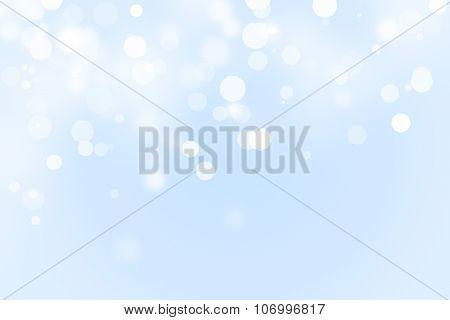 Winter Bokeh Background