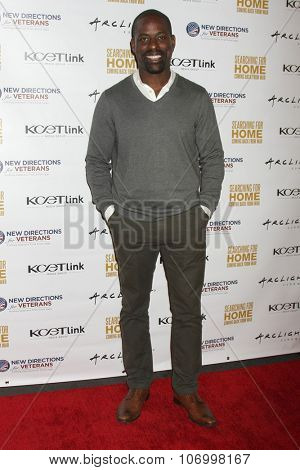 LOS ANGELES - NOV 2:  Sterling K. Brown at the