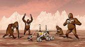 Постер, плакат: Discovery on Mars