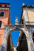 picture of alighieri  - Piazza dei Signori also known as Piazza Dante in Verona - JPG