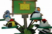 Toys Birds On Tree poster