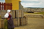 Louisbourg Lady