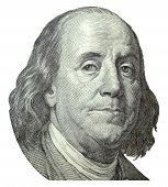 Ben Franklin Portrait poster