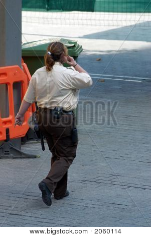 Security Guard Woman