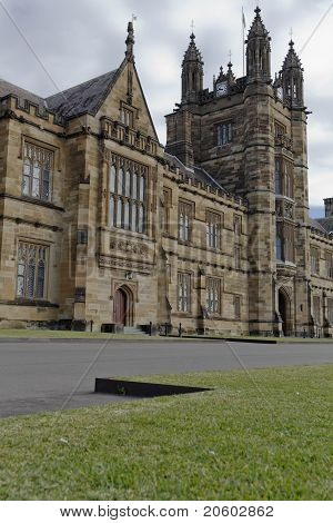 The University Of Sydney, The Main Quadrangle
