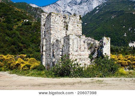 Sentry Serf Tower On Coast, Athos