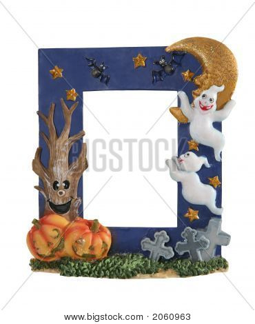 Halloweem Picture Frame