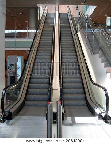 Double Escalator going up