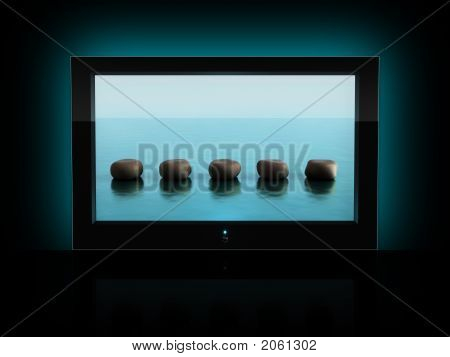 Wide-Screen Tv