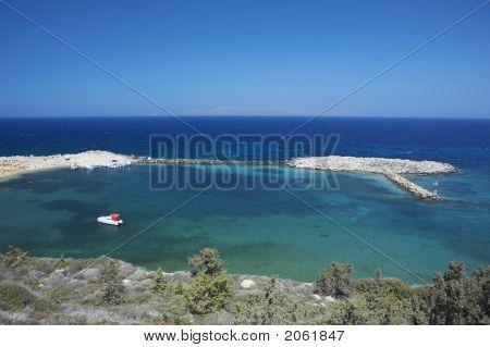 Boat In An Island