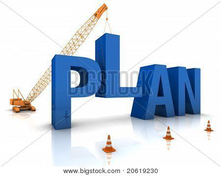 Entwicklung eines Plans