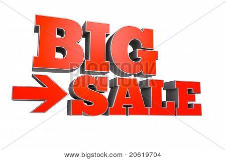 BIG SALE text