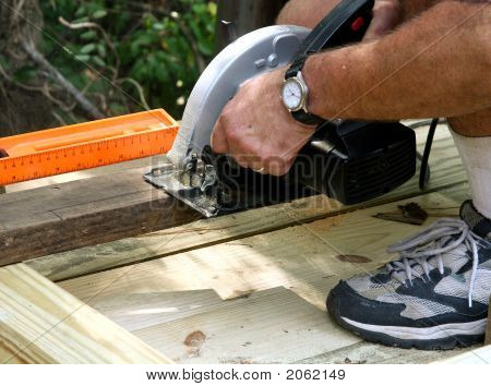 Sawing The Board