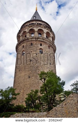 The Galata Tower, Istanbul , Turkey