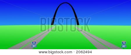 Interstates To Gateway Arch