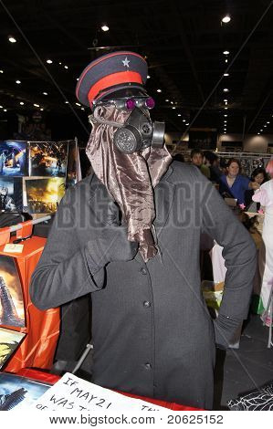 Cosplayer At Cosplay Event At Londons Excel Center 28Th May 2011