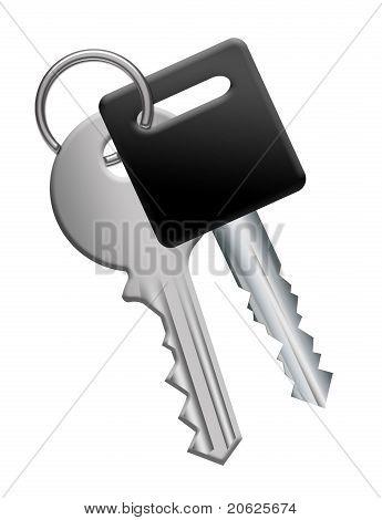 Key Chain With Keys