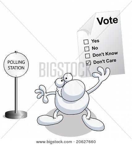 Man vote