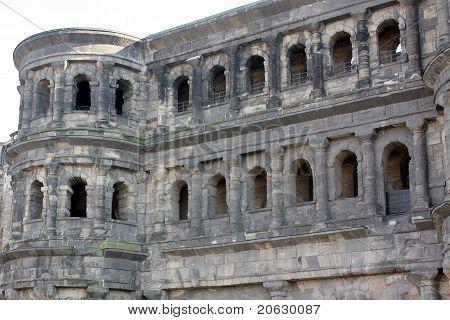 The old city wall Porta Negro
