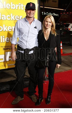 LOS ANGELES - MAR 14:  Liev Schreiber, Naomi Watts arriving at the US premiere of 'Paul' at the Grauman's Chinese Theater L.A.Live in Los Angeles, California on March 14, 2011.