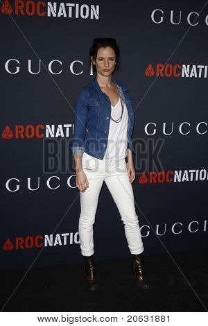 WEST HOLLYWOOD - FEB 12:  Juliette Lewis arriving at the Gucci and RocNation Pre-GRAMMY Brunch held in West Hollywood, California on February 12, 2011.