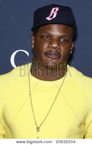 WEST HOLLYWOOD - FEB 12:  Sean Garrett arriving at the Gucci and RocNation Pre-GRAMMY Brunch held in West Hollywood, California on February 12, 2011.